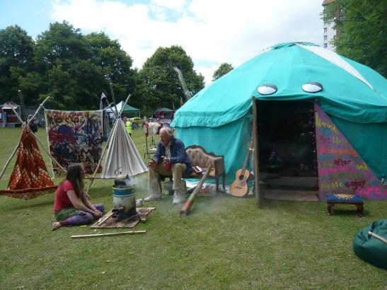 Pixies Cosmic Yurt
